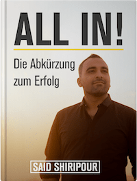 Buch von Said Shiripour All in!