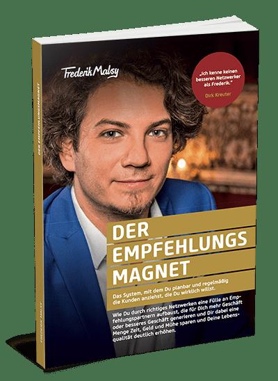Buch von Frederik Malsy Der Empfehlungsmagnet