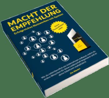 Buch von Jim Menter Macht der Empfehlung