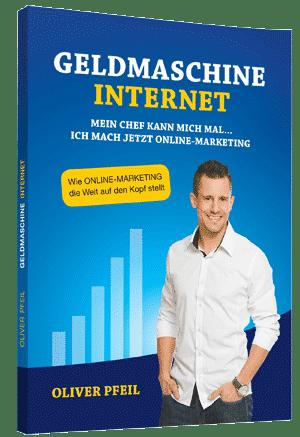Buch von Oliver Pfeil Gelmaschine Internet