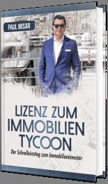 Buch von Paul Misar Lizenz zum Immobilien Tycoon