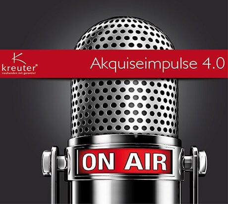 Dirk Kreuter-kostenloses Hörbuch Akquiseimpulse 4.0 - Verkaufen lernen