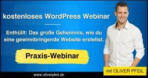 Wordpress Webinar Oliver Pfeil