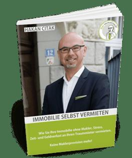 kostenloses Buch Immobilie selbst vermieten - Hakan Citak - finanzielle Freiheit mit Immobilien