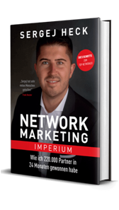 Buch von Sergej Heck Network Marketing