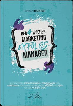 kostenloses Buch Damian Richter Der 4 Wochen Marketing-Erfolgsmanager