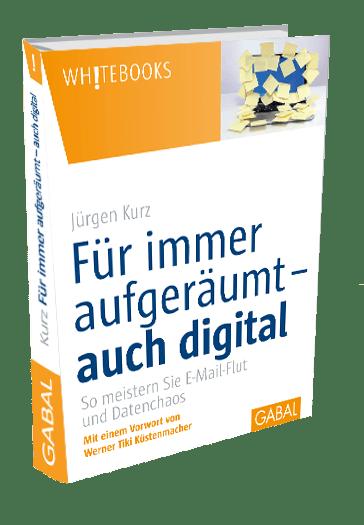 kostenloses Buch für immer aufgeräumt-auch digital Jürgen Kurz